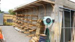 Its important to keep the timber sorted and dry